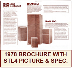 RAM 1978 Brochure STL4